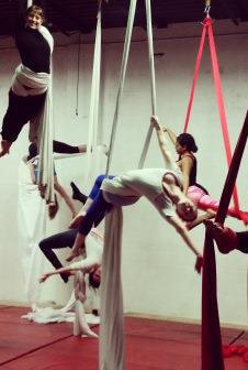 aerial fitness classes