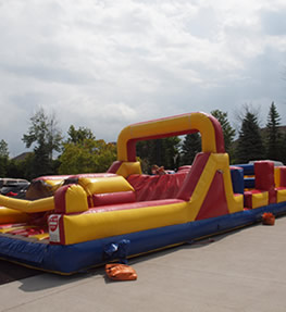 inflatable rental obstacle course
