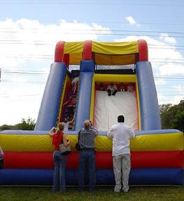 inflatable rental slide