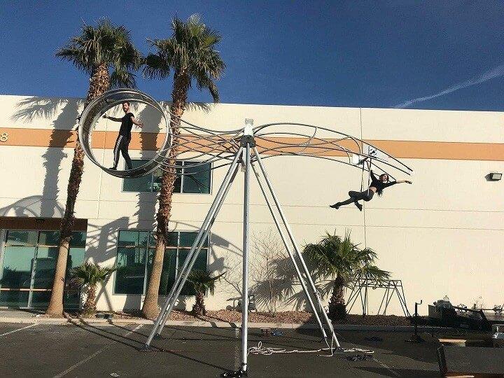 Wheel of Death Circus Show