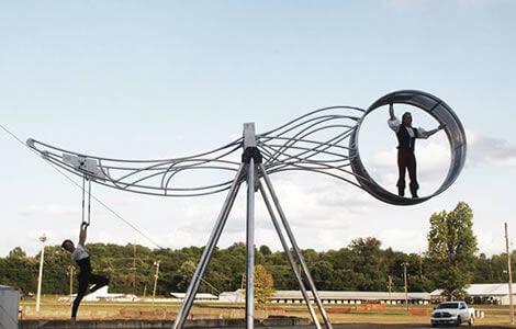 Cincinnati Circus Wheel of Destiny