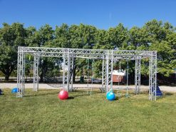 ninja warrior course rental