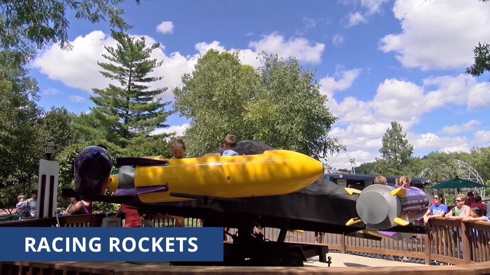 Racing Rockets Mechanical Ride