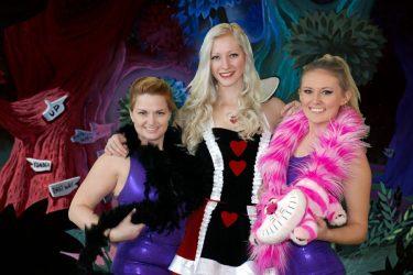 Cincinnati Alice in Wonderland Characters Alice Mad Hatter Cheshire Cat