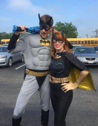 Bat Guy and Bat Girl