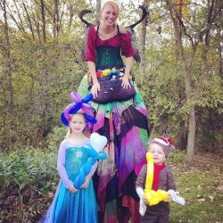 Cincinnati Fairy Birthday Party with balloon animals