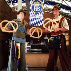 German Stilt Walker Octoberfest