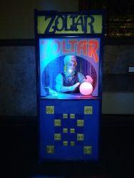 Human Zoltar Fortune Teller