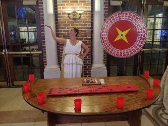 Roman Toga Casino Night?