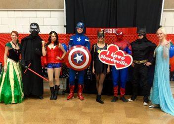 Superheros Captain America Batman and More