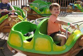 Turtle Parade Mechanical Kiddie Ride