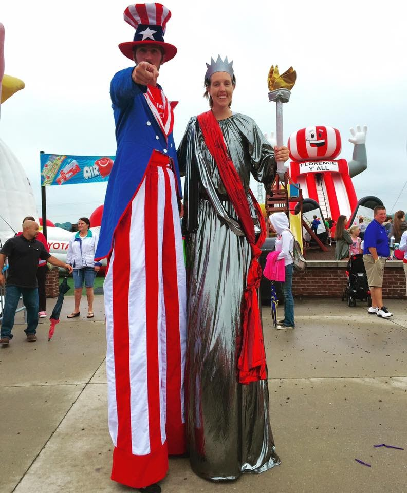 Stilt Walkers and Costume Characters