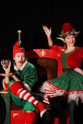 Santa Throne Santa Chair and Sleigh Christmas Decorations