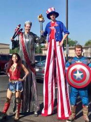 Captain USA Super Hero for America