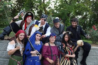 Cincinnati Pirate Actors Pirate Party