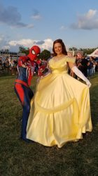 Spiderman and Princess