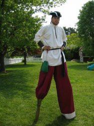 Pirate Stilt walker Birthday Parties or Parades