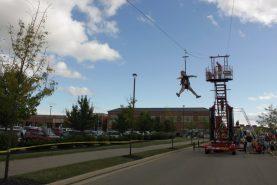 mobile zipline for schools
