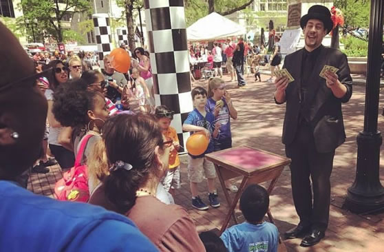 Birthday Party Magic Shows