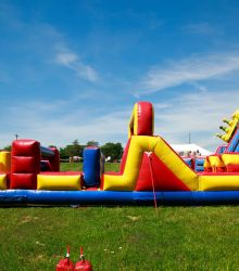 40' Inflatable Obstacle Course