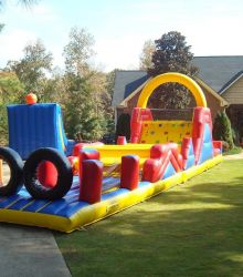 62 Foot Obstacle Course