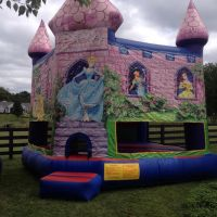 Disney Themed Bounce Castle