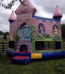Disney Themed Bounce Castle