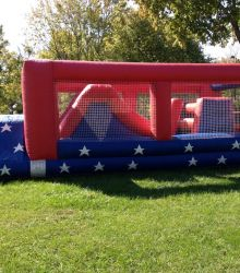 Patriotic Themed Obstacle Course