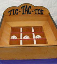 Tic Tac Toe Toss