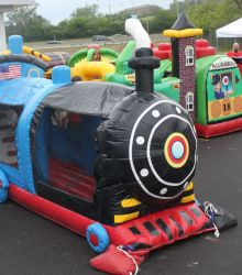Kiddie Train Obstacle Course