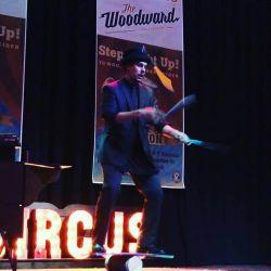 Cincinnati Juggler Juggling